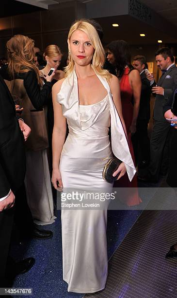 Actress Claire Danes attends the Capitol File's 7th Annual White House Correspondents' Association Dinner after party at The Newseum on April 28 2012...