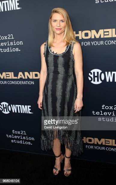 Actress Claire Danes attends the FYC event for Showtime's 'Homeland' at the Writers Guild Theater on June 5 2018 in Beverly Hills California