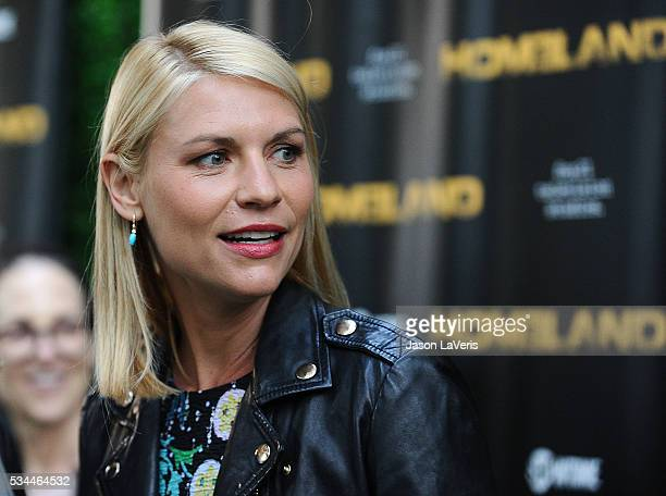 Actress Claire Danes attends the Homeland Emmy FYC event at Zanuck Theater at 20th Century Fox Lot on May 25 2016 in Los Angeles California