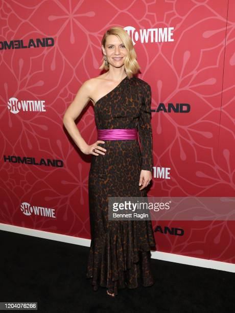 """Actress Claire Danes attends the """"Homeland"""" Season 8 premiere at Museum of Modern Art on February 04, 2020 in New York City."""