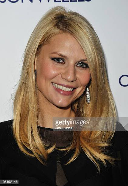 Actress Claire Danes attends the 'Me & Orson Welles' UK Premiere at the Vue West End on November 18, 2009 in London, England.