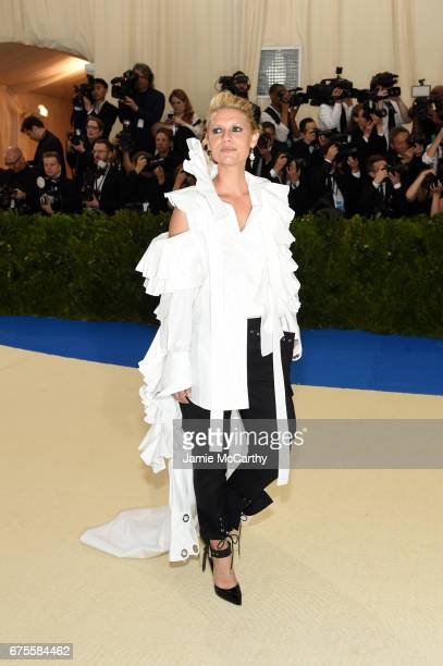 Actress Claire Danes attends the 'Rei Kawakubo/Comme des Garcons Art Of The InBetween' Costume Institute Gala at Metropolitan Museum of Art on May 1...