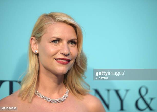 Actress Claire Danes attends the Tiffany Co 2017 Blue Book Collection Gala at St Ann's Warehouse on April 21 2017 in New York City