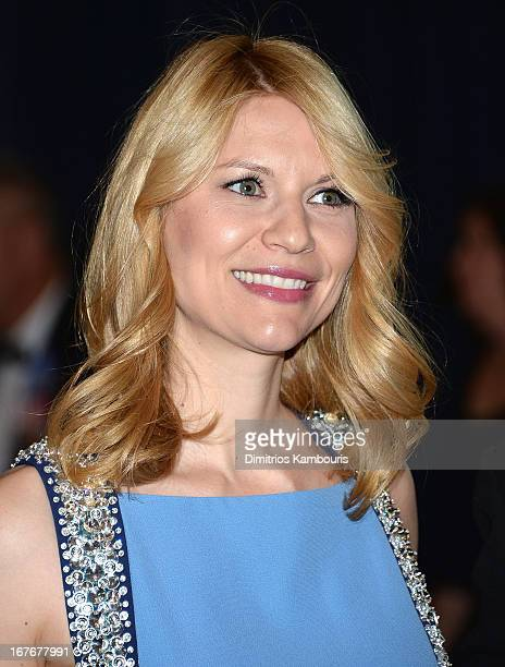 Actress Claire Danes attends the White House Correspondents' Association Dinner at the Washington Hilton on April 27 2013 in Washington DC