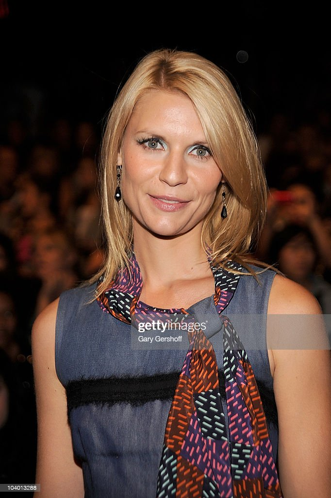Actress Claire Danes attends the Z Spoke by Zac Posen Spring 2011 fashion show during Mercedes-Benz Fashion Week at The Theater at Lincoln Center on September 11, 2010 in New York City.