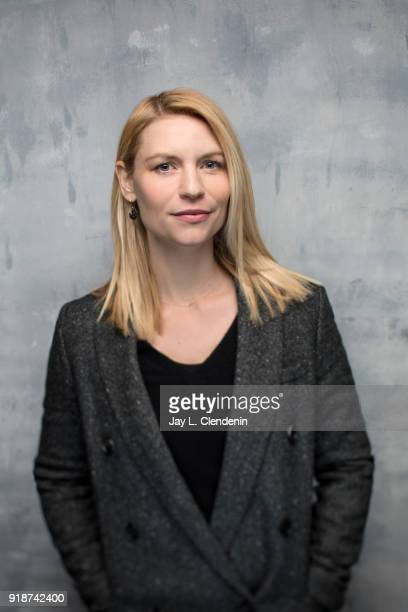 Actress Claire Danes from the film 'A Kid Like Jake' is photographed for Los Angeles Times on January 21 2018 in the LA Times Studio at Chase...