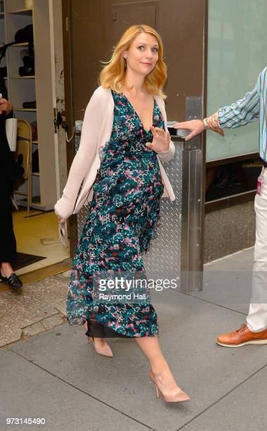 Actress Claire Danes is seen walking in midtown on June 13 2018 in New York City