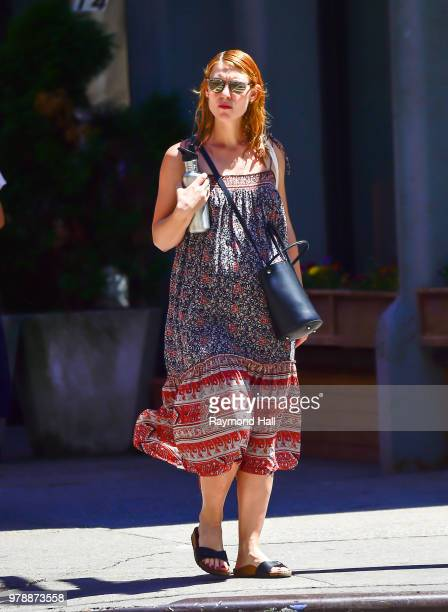 Actress Claire Danes is seen walking in soho on June 19 2018 in New York City