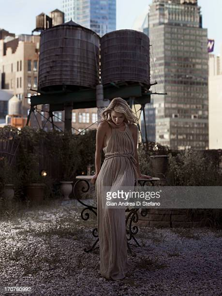 Actress Claire Danes photographed for Emmy Magazine on July 30 2011 in New York City