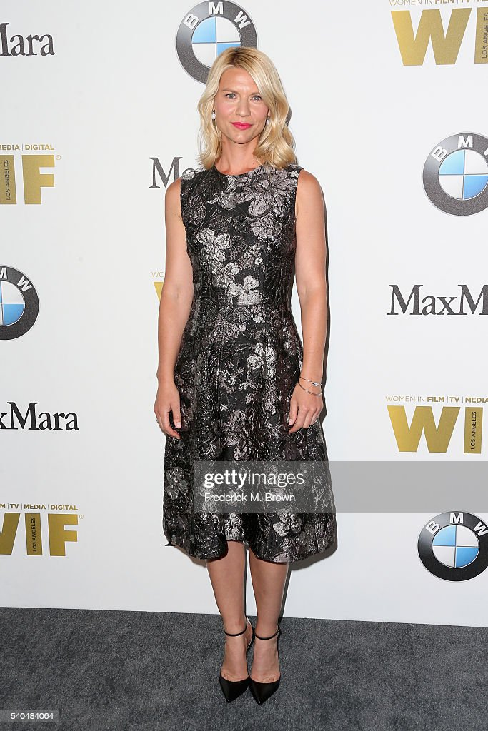 Actress Claire Danes, wearing Max Mara, attends Women In Film 2016 Crystal + Lucy Awards Presented by Max Mara and BMW at The Beverly Hilton on June 15, 2016 in Beverly Hills, California.