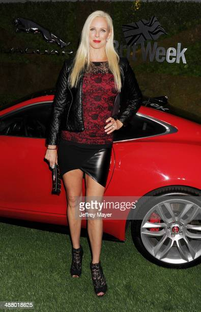Actress Claire Farwell attends the Jaguar North America and BritWeek present a Villainous Affair held at The London on May 2 2014 in West Hollywood...