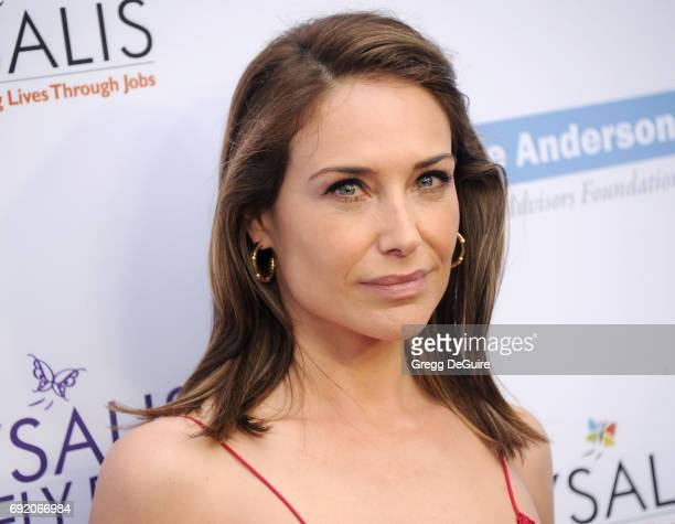 Actress Claire Forlani arrives at the 16th Annual Chrysalis Butterfly Ball at a private residence on June 3 2017 in Brentwood California