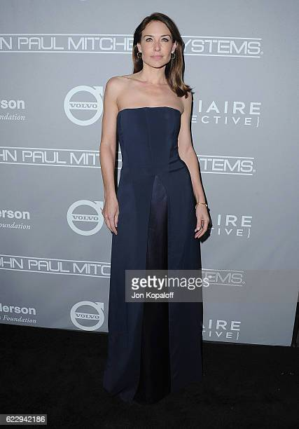 Actress Claire Forlani arrives at the 5th Annual Baby2Baby Gala at 3LABS on November 12 2016 in Culver City California