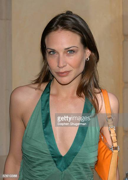 Actress Claire Forlani attends Chrysalis' Fourth Annual Butterfly Ball at a private residence on April 9 2005 in Bel Air California