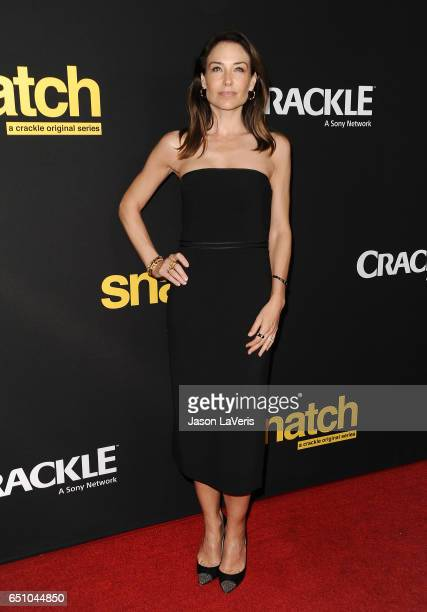Actress Claire Forlani attends the premiere of Snatch at Arclight Cinemas Culver City on March 9 2017 in Culver City California