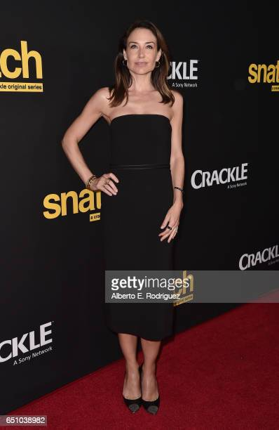 Actress Claire Forlani attends the premiere screening of Cackle's 'Snatch' the series at Arclight Cinemas Culver City on March 9 2017 in Culver City...
