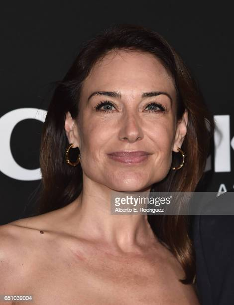 Actress Claire Forlani attends the premiere screening of Cackle's Snatch the series at Arclight Cinemas Culver City on March 9 2017 in Culver City...