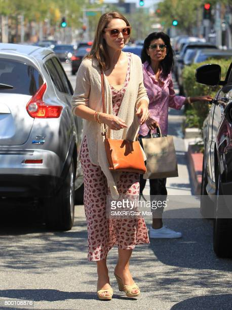 Actress Claire Forlani is seen on June 22 2017 in Los Angeles California