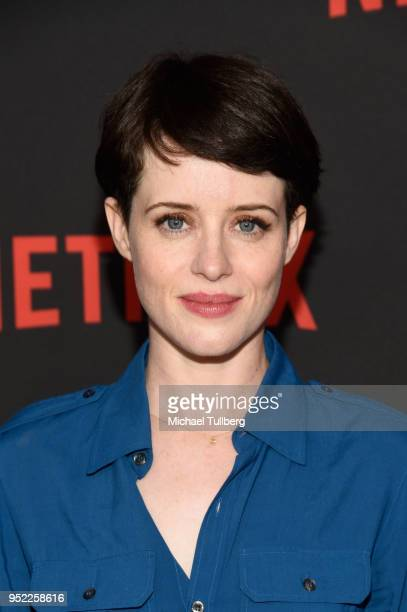 Actress Claire Foy attends a For Your Consideration event for Netflix's The Crown at Saban Media Center on April 27 2018 in North Hollywood California