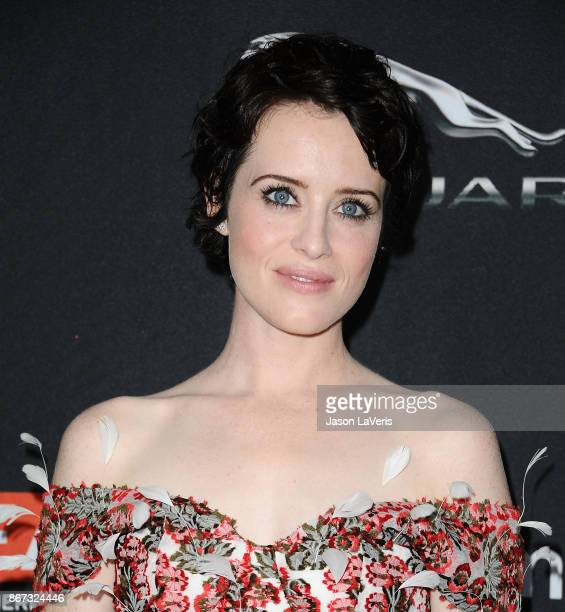 Actress Claire Foy attends the 2017 AMD British Academy Britannia Awards at The Beverly Hilton Hotel on October 27, 2017 in Beverly Hills, California.