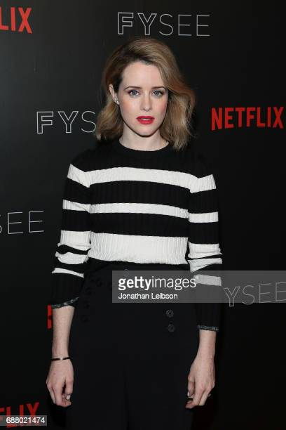 Actress Claire Foy attends the Netflix's 'The Crown' For Your Consideration Event at Netflix FYSee Space on May 24 2017 in Beverly Hills California