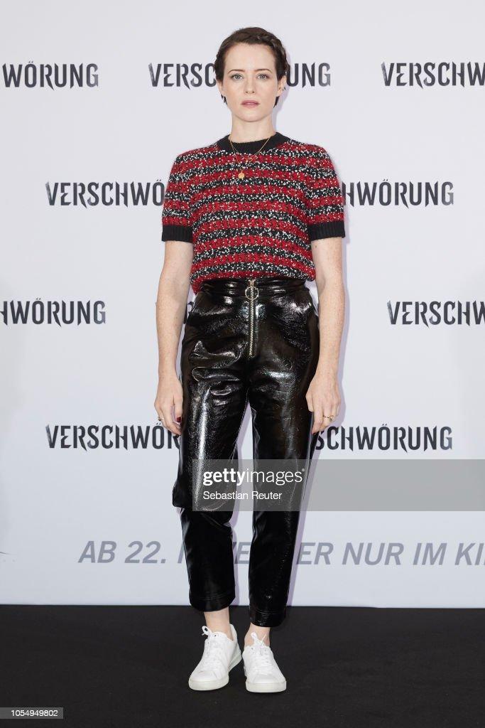 'Verschwoerung' Photo Call In Berlin : News Photo