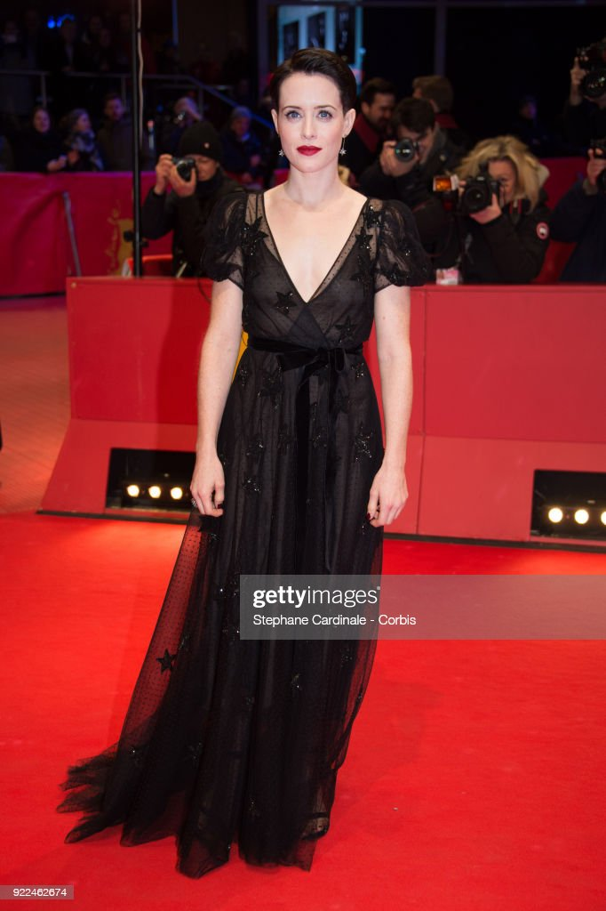 Actress Claire Foy attends the 'Unsane' premiere during the 68th Berlinale International Film Festival Berlin at Berlinale Palast on February 21, 2018 in Berlin, Germany.