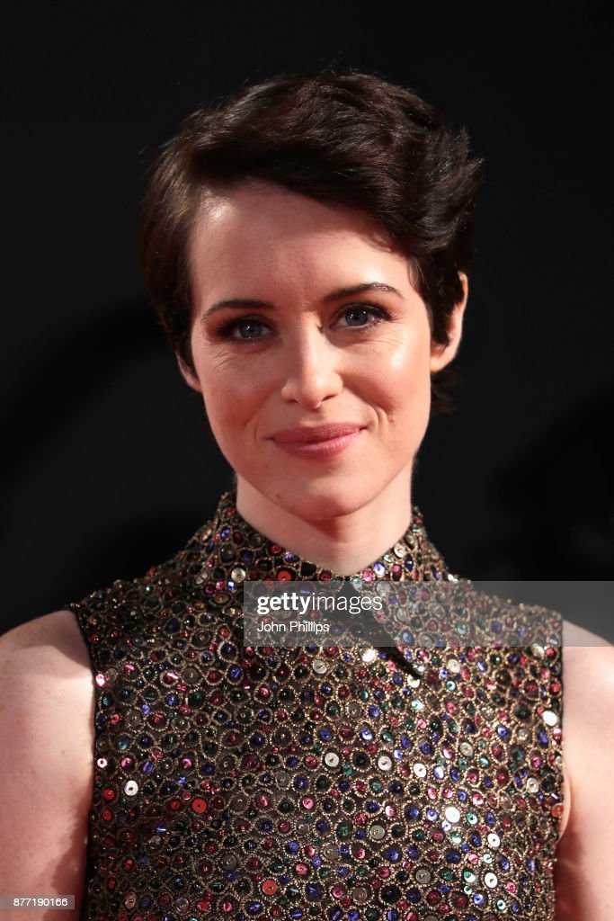 Actress Claire Foy attends the World Premiere of season 2 of Netflix 'The Crown' at Odeon Leicester Square on November 21, 2017 in London, England.