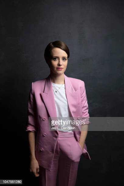 Actress Claire Foy from 'First Man' is photographed for Los Angeles Times on September 10 2018 in Toronto Ontario PUBLISHED IMAGE CREDIT MUST READ...