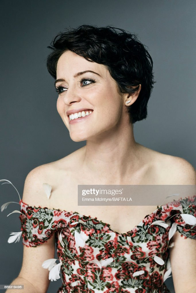 Actress Claire Foy is photographed at the 2017 AMD British Academy Britannia Awards on October 27, 2017 in Los Angeles, California.