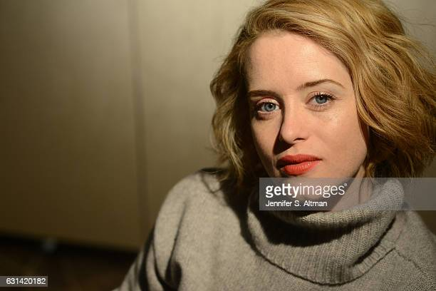 Actress Claire Foy is photographed for Los Angeles Times on October 25 2016 in New York City PUBLISHED IMAGE