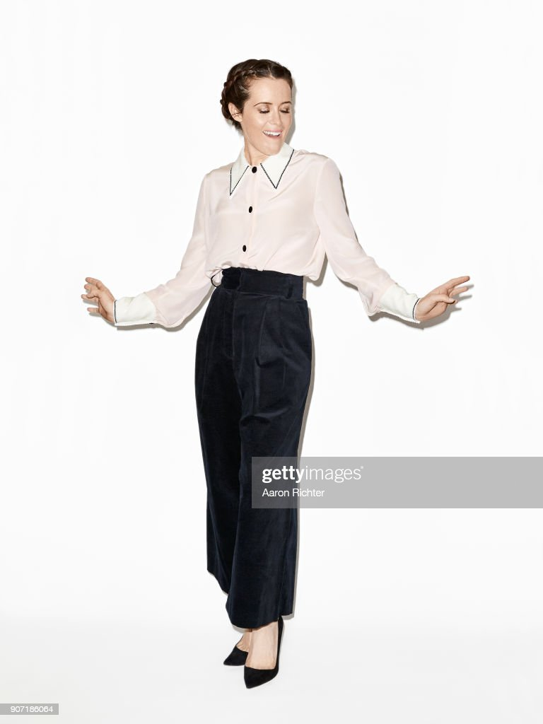Claire Foy, New York Times, December 3, 2017