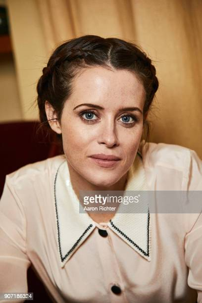 Actress Claire Foy is photographed for New York Times on October 11 2017 in New York City