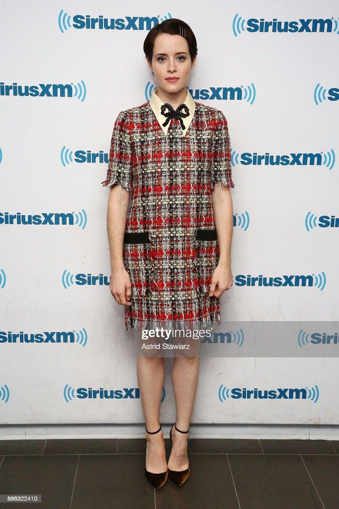 Celebrities Visit SiriusXM - December 5, 2017 : News Photo