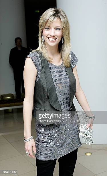 Actress Claire Goose attends the drinks reception prior to the VIP performance of 'Night of The Snow Queen' at St Martin's Lane Hotel on December 12...