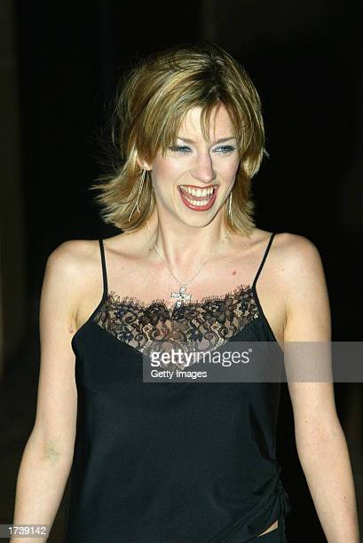 Actress Claire Goose attends the premier of the new film 'About Schmidt' starring Jack Nicholson at the Warner Bros Leicester Square cinema on...