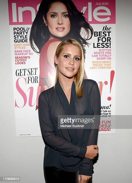 Actress Claire Holt attends MaryKate Olsen Ashley Olsen and InStyle Editor Ariel Foxman celebrate the launch of the Elizabeth and James Fall 2013...