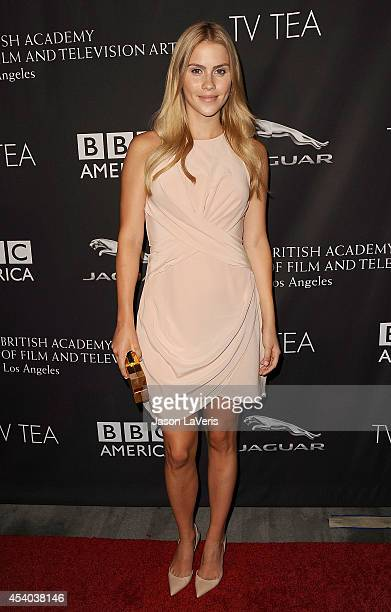 Actress Claire Holt attends the BAFTA Los Angeles TV Tea Party at SLS Hotel on August 23 2014 in Beverly Hills California