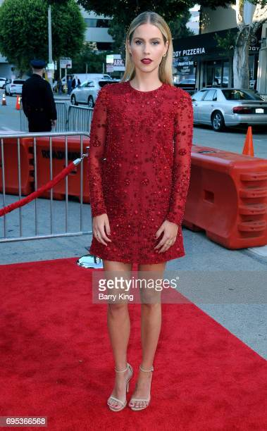 Actress Claire Holt attends the Premiere of Dinemsion Films' '47 Meters Down' at Regency Village Theatre on June 12 2017 in Westwood California