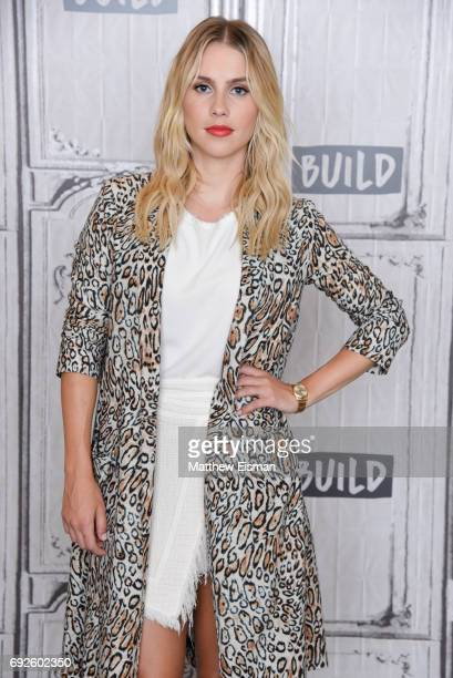 Actress Claire Holt discusses her new film 47 Meters Down at Build Studio on June 5 2017 in New York City