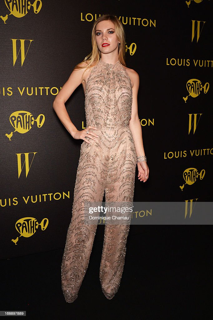 Actress Claire Julien attends The Bling Ring Party hosted by Louis Vuitton during the 66th Annual Cannes Film Festival at Club d'Albane/JW Marriott on May 16, 2013 in Cannes, France.