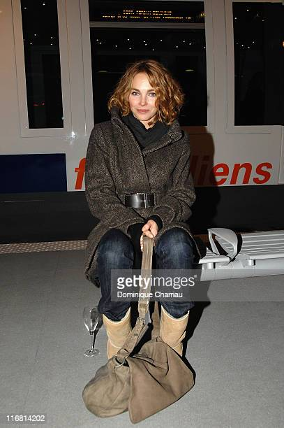 Actress Claire Keim at The 70th Anniversary of SNCF on December 21 2007 in Paris