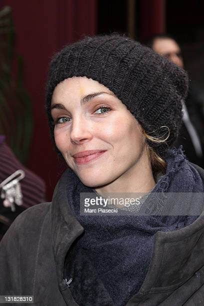 Actress Claire Keim attends 'La Chanson Francaise de l'Annee' rehearsals at L'Olympia on January 7 2011 in Paris France