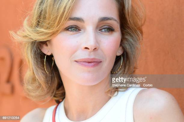 Actress Claire Keim attends the 2017 French Tennis Open Day Five at Roland Garros on June 1 2017 in Paris France