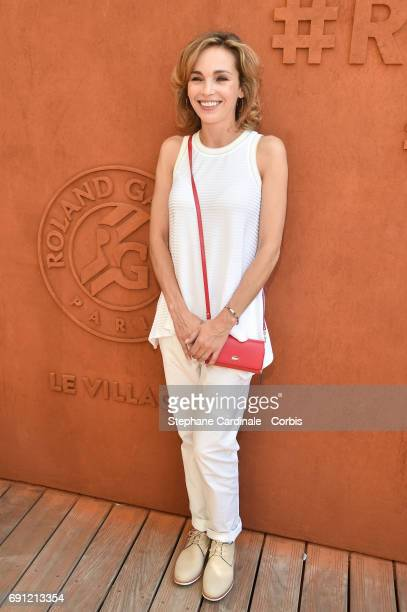 Actress Claire Keim attends the 2017 French Tennis Open - Day Five at Roland Garros on June 1, 2017 in Paris, France.