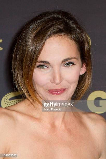 Actress Claire Keim attends the GQ Men of the Year 2012 at Musee d'Orsay on January 16 2013 in Paris France