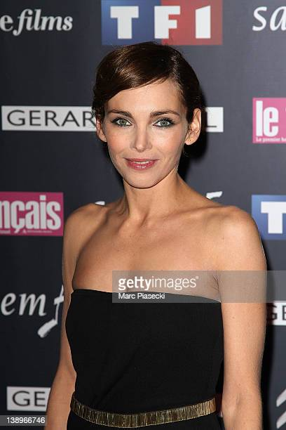 Actress Claire Keim attends the 'Trophees Du Film Francais 2012' photocall at Palais Brongniart on February 14, 2012 in Paris, France.