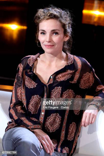 Actress Claire Keim poses during a portrait session in Paris France on