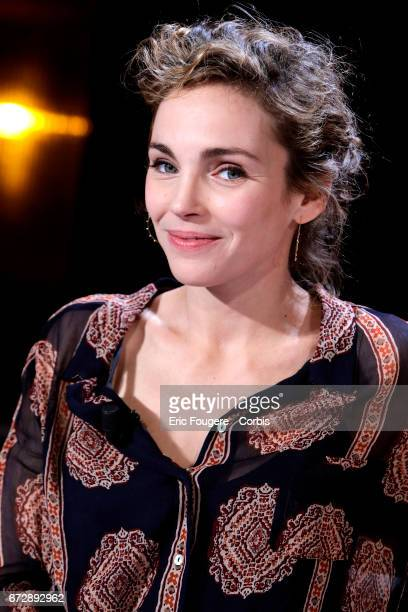 Actress Claire Keim poses during a portrait session in Paris, France on .