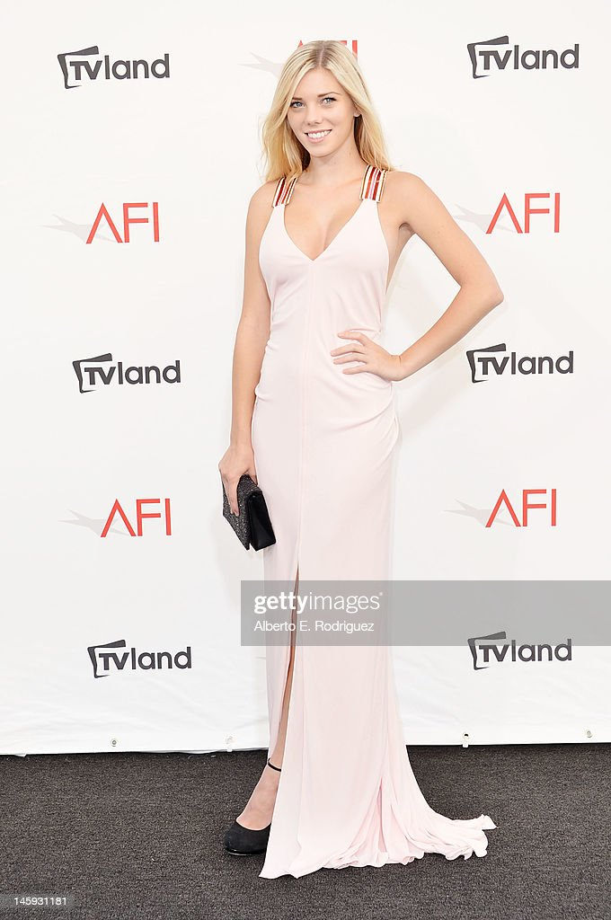 Actress Claire Pfister arrives at the 40th AFI Life Achievement Award honoring Shirley MacLaine held at Sony Pictures Studios on June 7, 2012 in Culver City, California. The AFI Life Achievement Award tribute to Shirley MacLaine will premiere on TV Land on Saturday, June 24 at 9PM